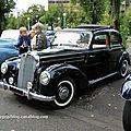 Mercedes 220 berline découvrable (Retrorencard aout 2011) 01