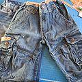 Sacs jeans le résultat