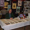 Le stand du Club Marangeois d'Histoire locale