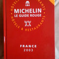 Blog d'une Collection de guides Michelin