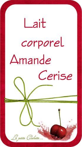 Lait Amande-cerise