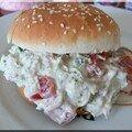 Hamburger crudités