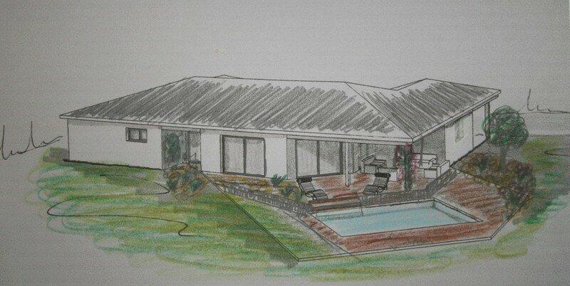 un plan de piscine le petit chemin. Black Bedroom Furniture Sets. Home Design Ideas