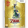Zelda : skyward sword - wii