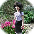 La robe de Louisa version pull Ellowyne par Line