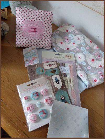 cadeaux reçus d'Annie