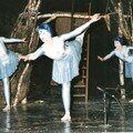 la danse de l'eau