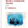 Pascal Boulanger, <b>Trame</b>: Anthologie, 1991-2018 (compte rendu)