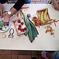 Matinée dans le cadre de la semaine du goût : découverte des fruits et <b>légumes</b> au RAM