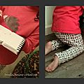 Un pyjama pour fillette... et mes premiers tissus