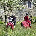balade à cheval médiévale - Abbaye de Hambye (232)