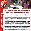 Ridicule :une section <b>CGT</b> contre l'islamophobie !