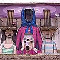 Le street art & L'<b>ile</b> de <b>beauté</b>, une belle rencontre.