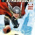 L'affiche comics de strasbulles 2011 thor with us ! merci stéphanie hans !