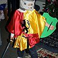 Une tunique de chevalier