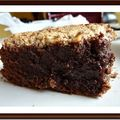 Brownie noisette