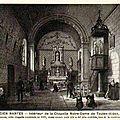 Ancien Nantes - Intérieur chapelle Notre-Dame de Toutes-Aides