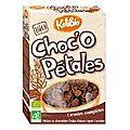 Barres de céréales chocolatées au coeur de fruits kalibio {recette}