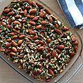 Flocons d'avoine aux carottes au four
