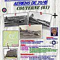 Musée des <b>crashs</b> <b>aériens</b> de Couterne dans l'Orne.