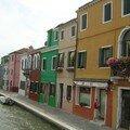 Burano et ses maisons multicolores