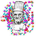 Paul Bocuse caricature