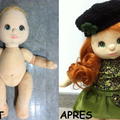 Poupées MY CHILD DOLL