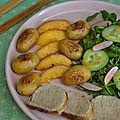 Filet <b>Mignon</b> de Porc, Grenailles et Nectarine