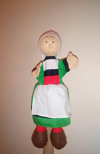 Marionnette Becassine