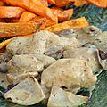 Sauté de poulet aux épices