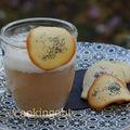 Capommeccino et tuiles au pavot