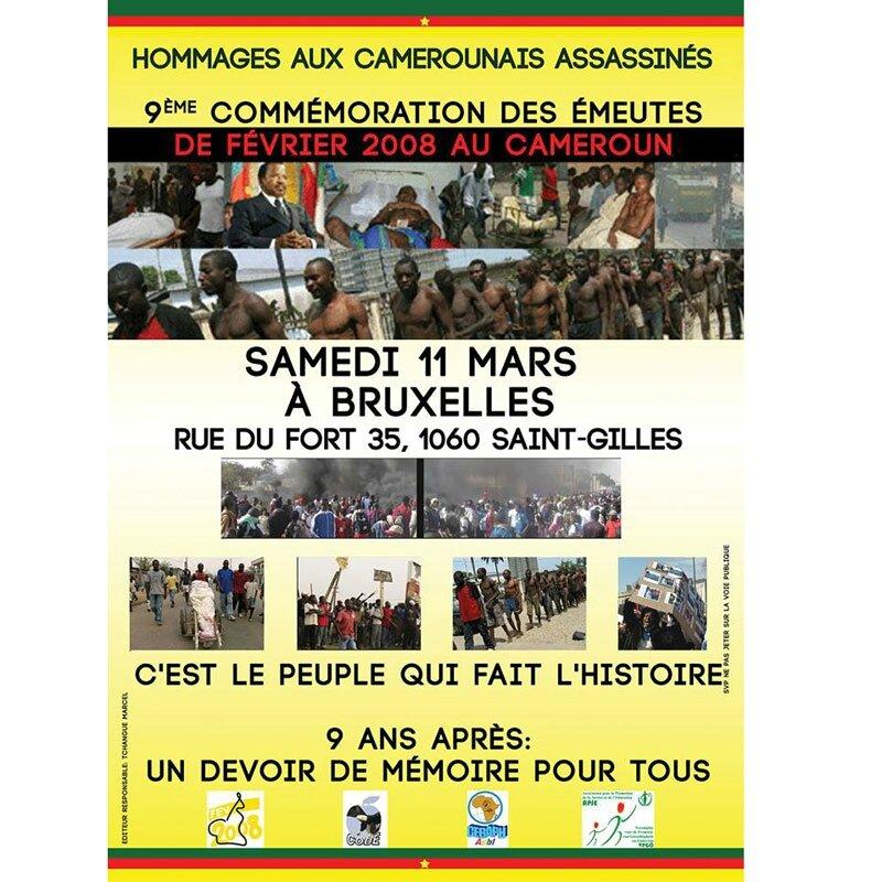 Commémoration 8ème Semaine des martyrs du Cameroun: LE FIL D'UNE HISTOIRE, DES ANNÉES DE LARMES ,D'INJUSTICE