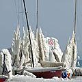 Tempête de glace à Versoix