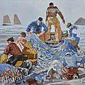 Mousse le queffelec perdu en mer, canot coulé par un torpilleur