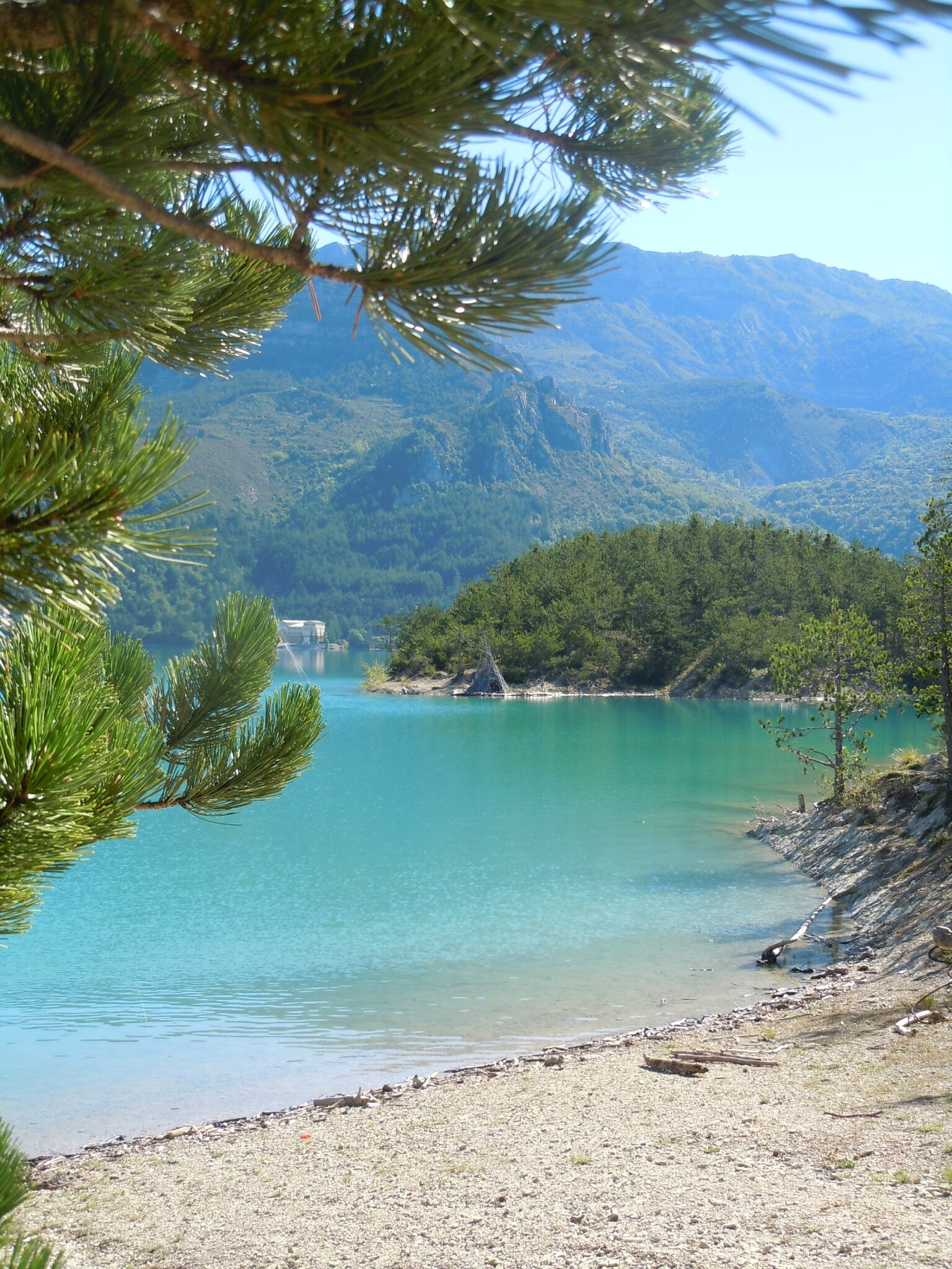 2014-07-31, lac de Castillon