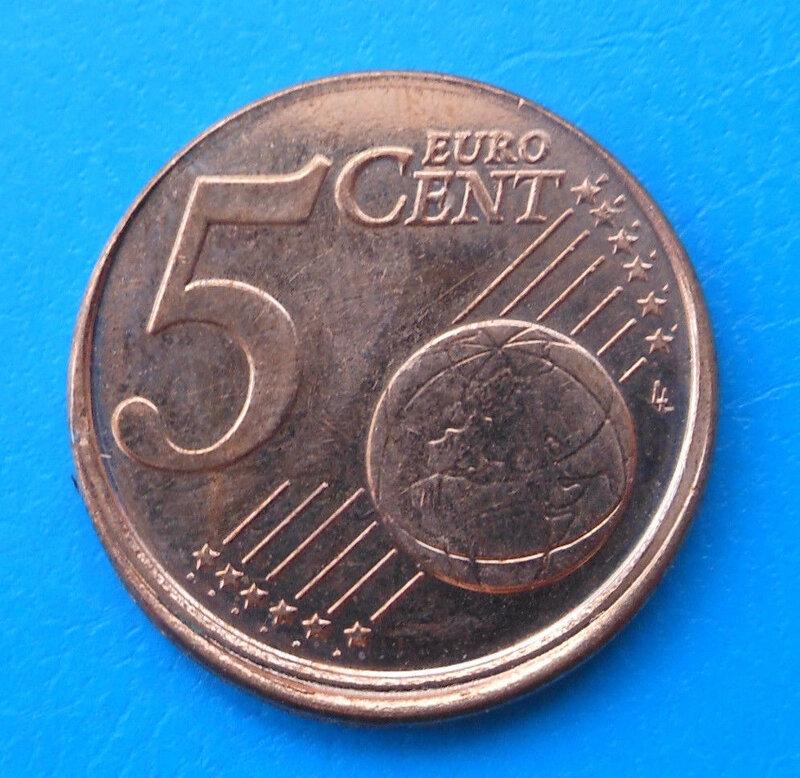 5 centimes 2017 12€ 2