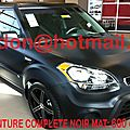 KIA SOUL, <b>covering</b> blanc <b>mat</b>, <b>covering</b> blanc <b>mat</b> noir <b>mat</b> Total <b>covering</b> noir <b>mat</b>, peinture <b>covering</b> noir <b>mat</b>, <b>covering</b> jantes