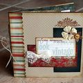 mini album Look Vintage - 26/09/09