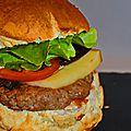 Hamburger à la raclette