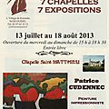 7 chapelles 7 expositions