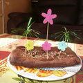 Le gâteau est prêt