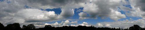 2008 06 13 Diaporama sur la vu du ciel à 17h04