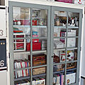 Ancienne <b>bibliothèque</b> pour mon atelier, 2ème partie.
