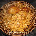 Pate tunisienne au poulet (maqarouna salsa bel djej)