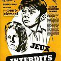 """ <b>Jeux</b> <b>Interdits</b> "" Film réalisé par René Clément en 1952"