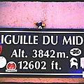 Aiguille du Midi et Schtroumpf (74)