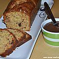 Noisettes & chocolat : cake et pâte à tartiner