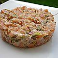 Tartare de saumon {cyril lignac}