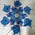 les poissons bleus