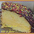 Le seven - gâteau tout simple avec peu d'ingrédients